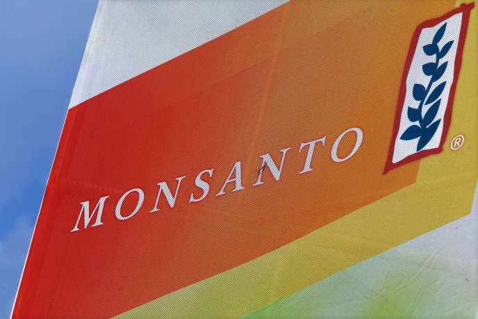 Logo Monsanto à Decatur (Alabama).