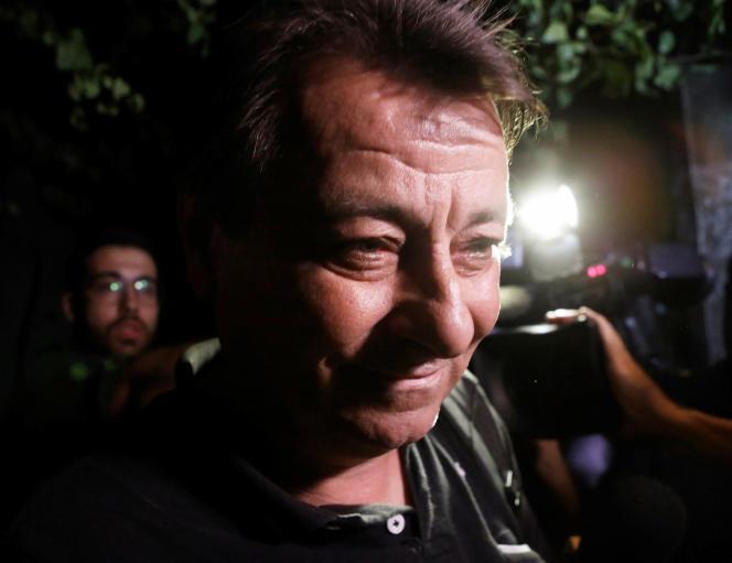 Cesare Battisti, à Sao Paolo, en 2015.