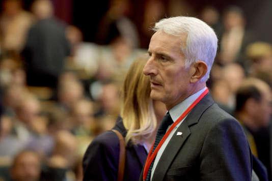 Le PDG de la SNCF, Guillaume Pepy, lors du lancement des Assises nationales de la mobilité, le 19 septembre, à Paris.