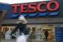 Dans le scandale financier de Tesco,«l'auditeur n'a rien vu et le régulateur n'y trouve rien à redire» (Photo: un magasin Tesco, à Londres, le 27 janvier).