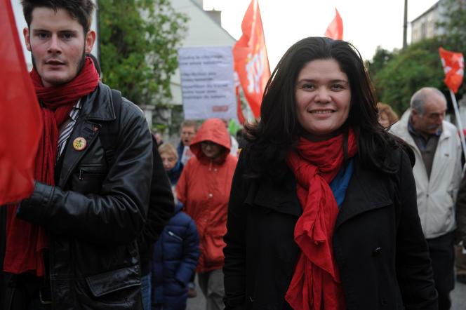 La porte-parole de La France insoumise, Raquel Garrido, le 2novembre 2013.