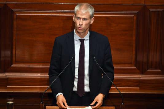 Franck Riester, coprésident du groupe Les Constructifs de l'Assemblée nationale, le 3 juillet.