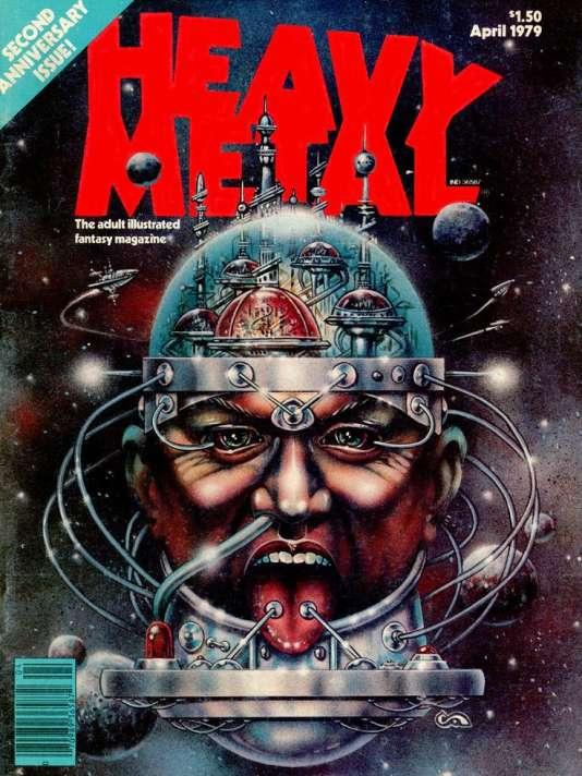 Traduit sous le titre« Heavy Metal» aux Etats-Unis à partir de 1978, la revue française «Métal Hurlant» a considérablement influencé George Lucas et Ridley Scott.