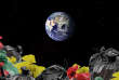 Les déchets s'accumulent dans l'espace.