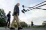 Le président américain Donald Trump et son épouse Melania Trump, à la Maison Blanche à Washington, le 3 octobre.