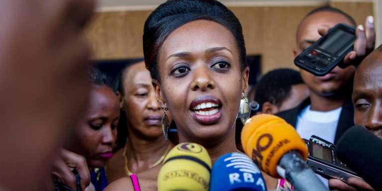 Diane Rwigara le 20 juin 2017 à Kigali.