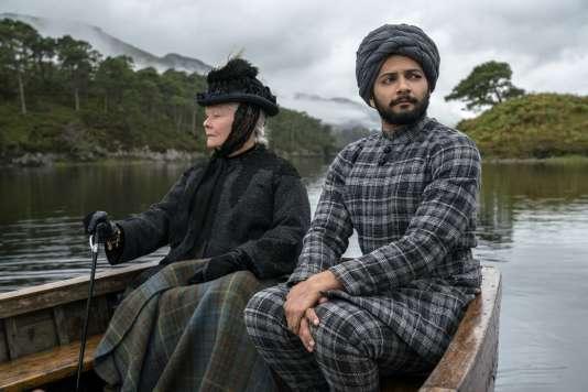 Judi Dench etAli Fazal dans le film britannique de Stephen Frears,«Confident royal» («Victoria and Abdul»).