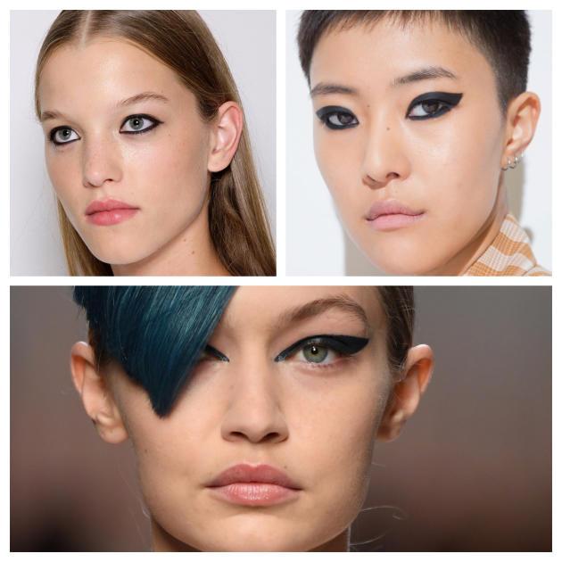 De haut en bas et de gauche à droite : Carolina Herrera, Versus Versace, Fendi.