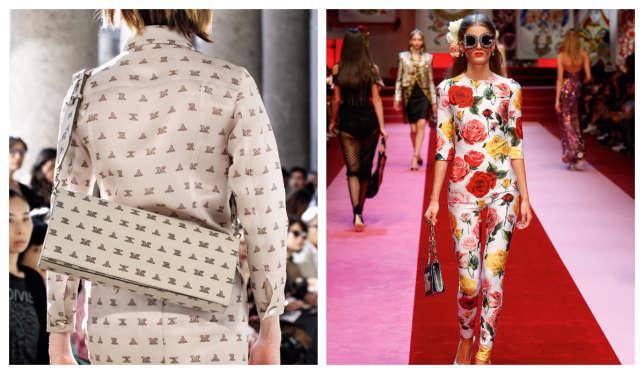 Dolce & Gabbana, Max Mara.