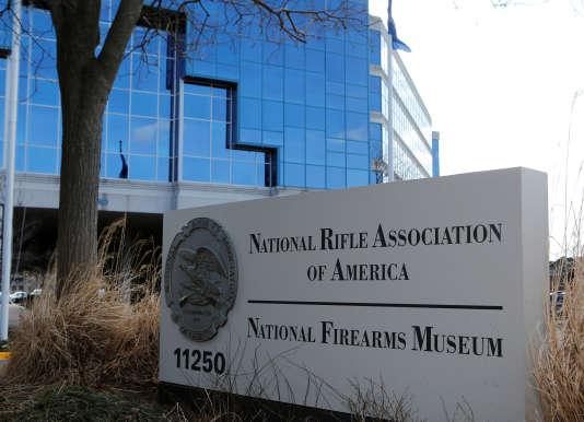 Le siège de la National Rifle Association, à Fairfax (Virginie), en mars 2013.