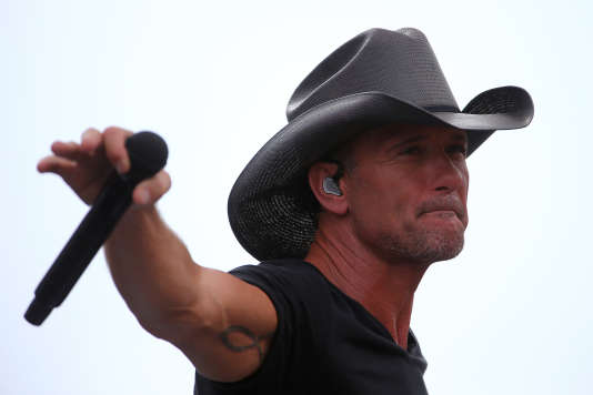 Tim McGraw en 2015.