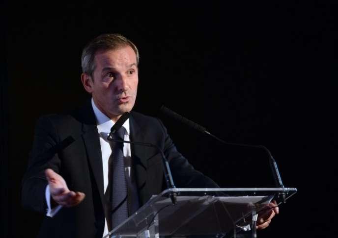 Le directeur général de la MAIF, Pascal Demurger, en 2014, à Paris.