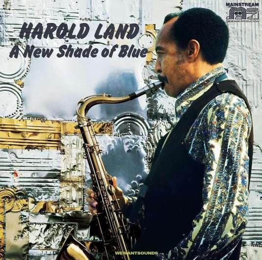 Pochette de l'album«A New Shade of Blue», d'Harold Land.