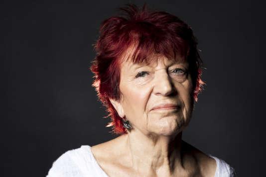 La chanteuse, musicienne et compositrice Anne Sylvestre.