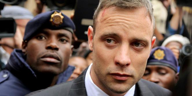 Oscar Pistorius à la Cour suprême de Pretoria, le 14 juin 2016.
