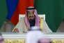 Le roi Salman, à Moscou, le 5 octobre.