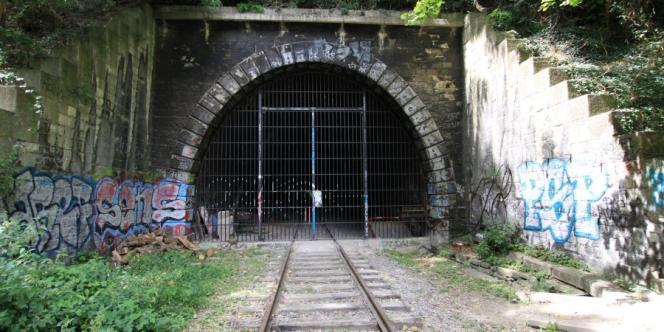 Un tunnel de la petite ceinture, dans le XVe arrondissement