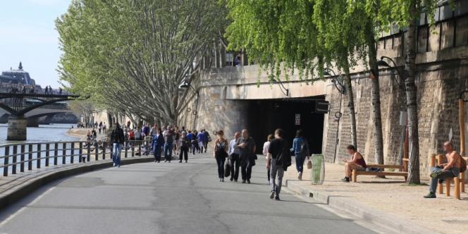 Le tunnel des Tuileries, long de 860 m, fait partie des lieux ouverts aux projets.