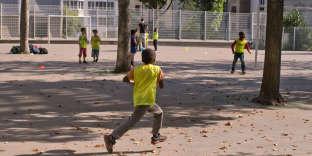 A l'école élémentaire de la Brèche-aux-Loups, à Paris (12e), en septembre 2014.