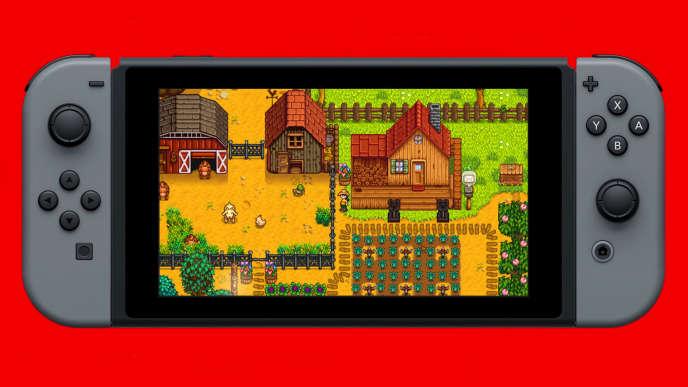 Le jeu de gestion agricole «Stardew Valley», un des plus gros succès indés de 2016, est sorti sur Switch le 5 octobre.