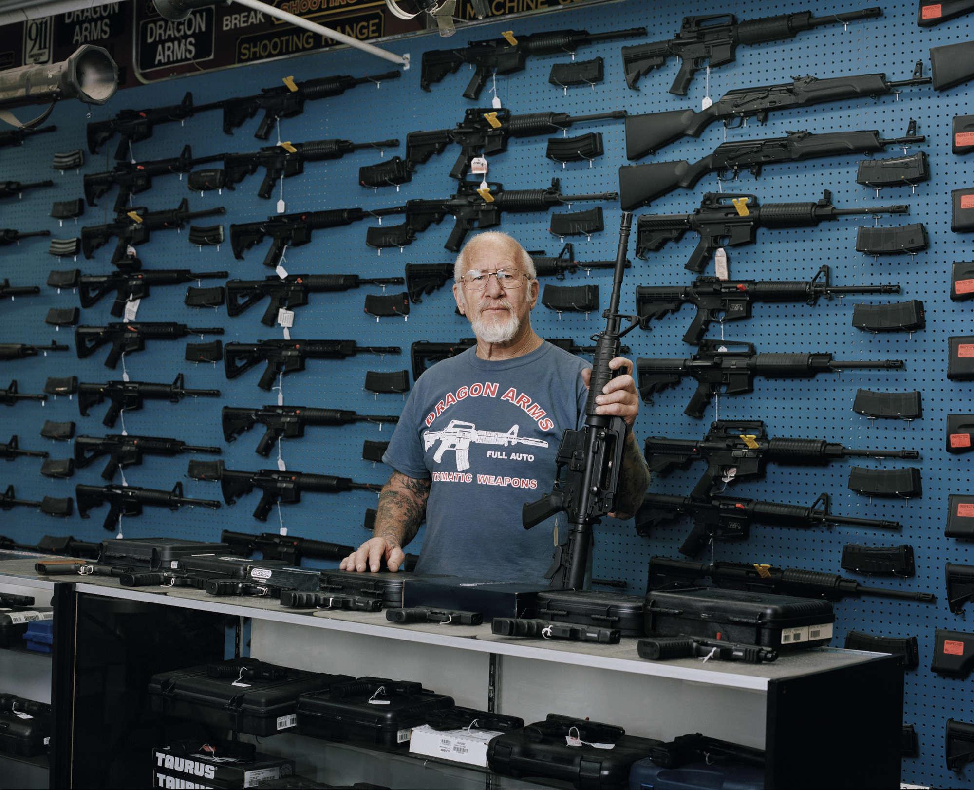 En 2016, Mel Bernstein tient toujours son armurerie Dragon Arms à Colorado Spring. En 2016, il dit : « les deux armes qui se vendent le mieux sont les fusils d'assaut AK-47 et le AR-15. Ce sont des armes militaires. Mais ce ne sont pas les armes qui tuent les gens». Au Colorado, la loi sur les armes à feu s'est durcie.