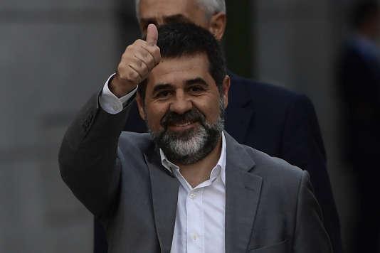 Jordi Sanchez, le 6 octobre à Madrid.