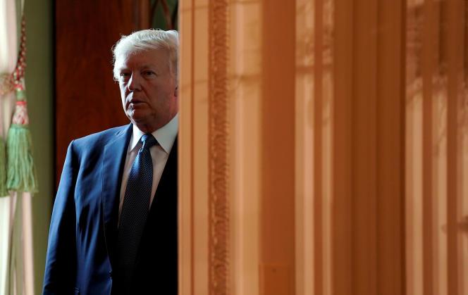 Donald Trump, le 6 octobre à la Maison Blanche.