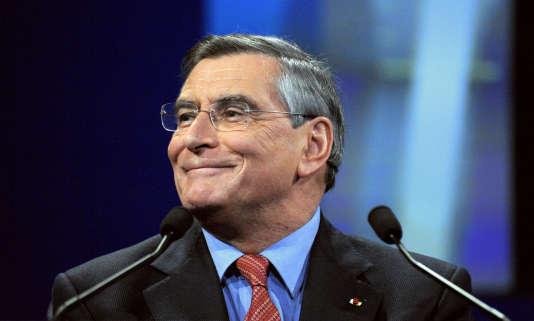Jean-Louis Beffa, le nouveau président du conseil de surveillance du Groupe Le Monde, ici en 2010 à Paris.