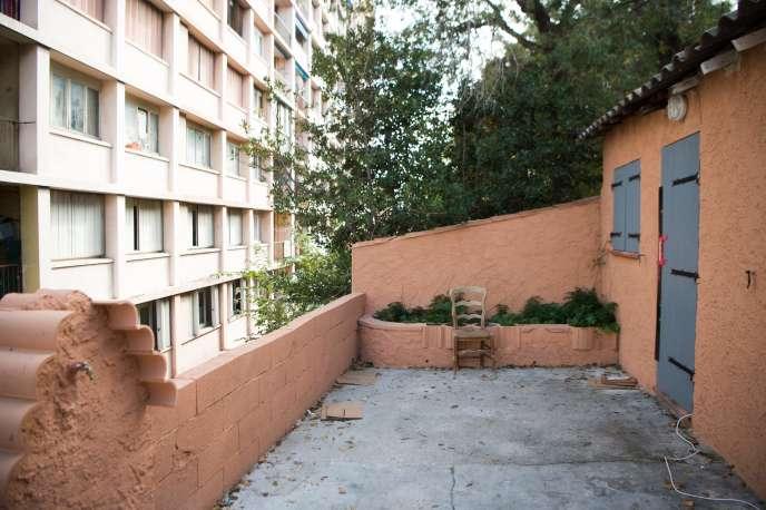 L'entréedu domicile marseillais deAhmed Hanachi le 4 octobre.
