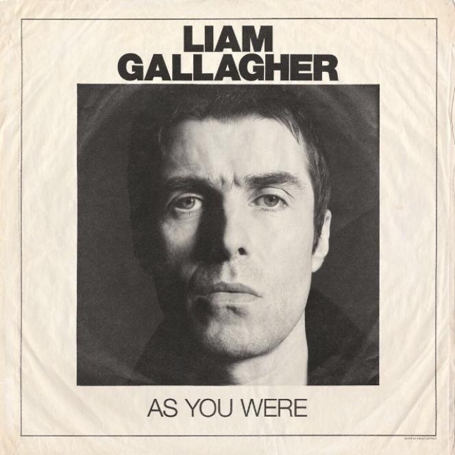 Pochette de l'album« As You Were», deLiam Gallagher.