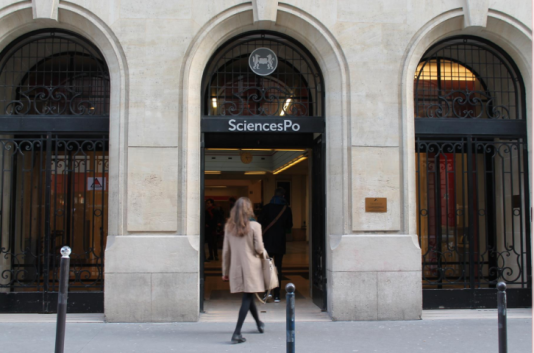 Sciences Po Paris, rue Saint-Guillaume, 7e arrondissement