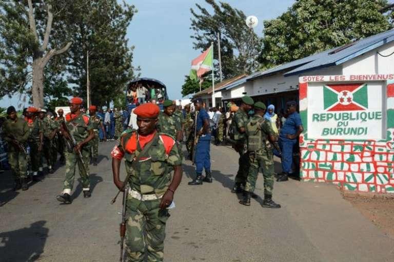 A la frontière entre le Burundi et la République démocratique du Congo, en janvier 2017.