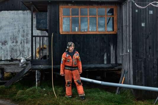Günter Stoof, spécialiste des régions polaires,est celui qui a séjourné le plus longtemps sur la station sibérienne.