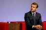 Emmanuel Macron à Egletons (Corrèze) le 4 octobre.