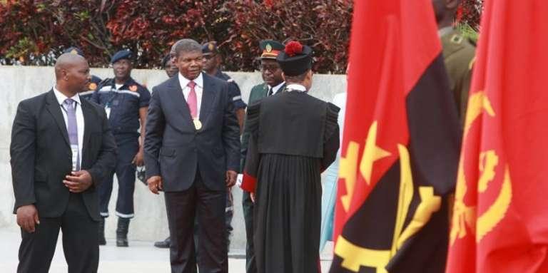 Le nouveau président angolais, Joa Lourenco, à Luanda, le 26 septembre.