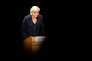 Marine Le Pen lors de son discours à l'université d'été du Front national à Poitiers le 1er octobre.