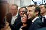 Emmanuel Macron aux «24 heures du bâtiment », à Paris, le 6 octobre 2017.