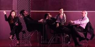 « La Famille royale», d'aprèsWilliam T. Vollmann, mise en scène par Thierry Jolivet au Théâtre de la Cité internationale à Paris.