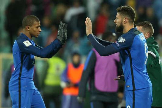 La France a dominé la Bulgarie samedi soir.