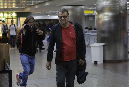 Cesare Battisti, le samedi 7 octobre, à Sao Paulo.