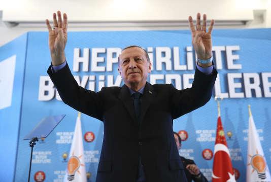 Le président turc, Recep Tayyip Erdogan, le 8octobre.