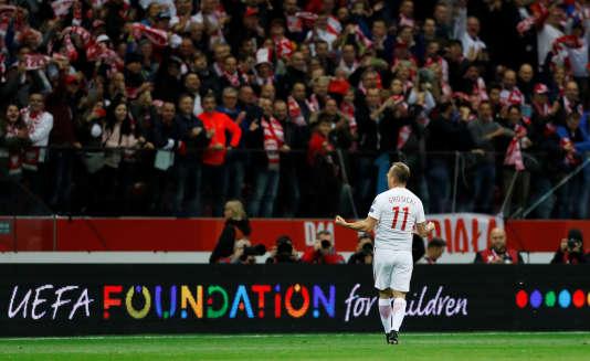 La Pologne de Grosicki disputera la Coupe du monde 2018.