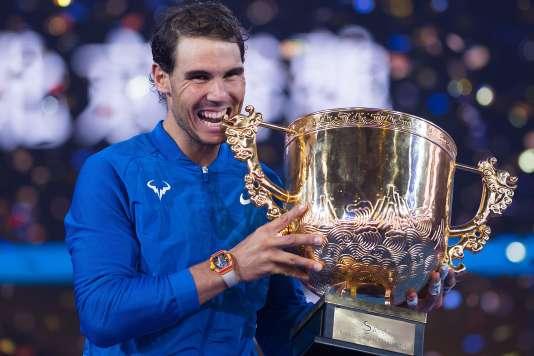 Rafael Nadal savoure le 75e succès de sa carrière à Pékin.