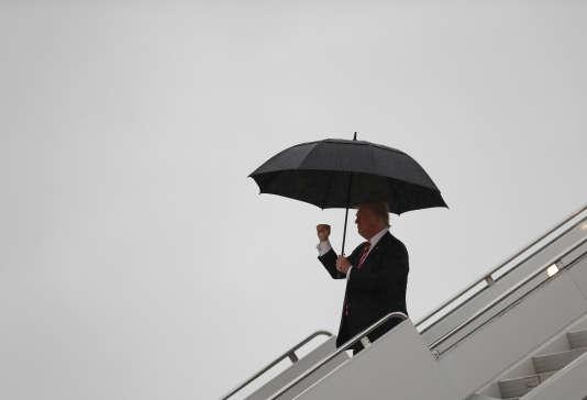 Donald Trump, le 7 octobre, à Greensboro, en Caroline du Nord.