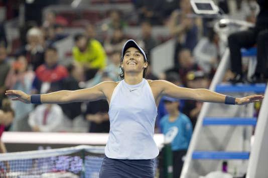 En deux semaines, Caroline Garcia a remporté deux titres en Chine.