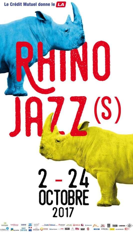 Affiche du festival Rhino Jazz(s), du 2 au 24 octobre.