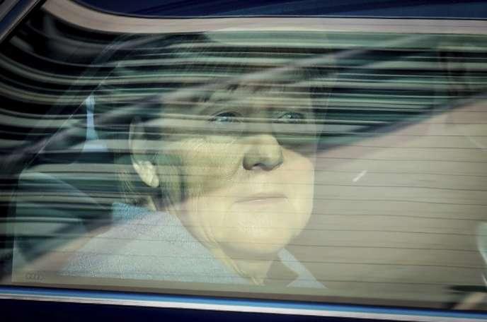 La chancelière allemande, Angela Merkel, à Berlin, le 9 octobre.
