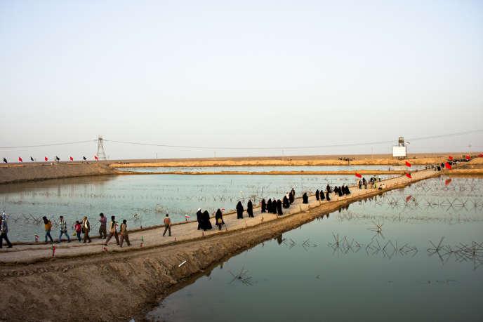 A près de 900 km de Téhéran, Shalamcheh dans la province iranienne du Khouzistan est située à la frontière avec l'Irak. Elle fait partie de la zone franche d'Arvand.