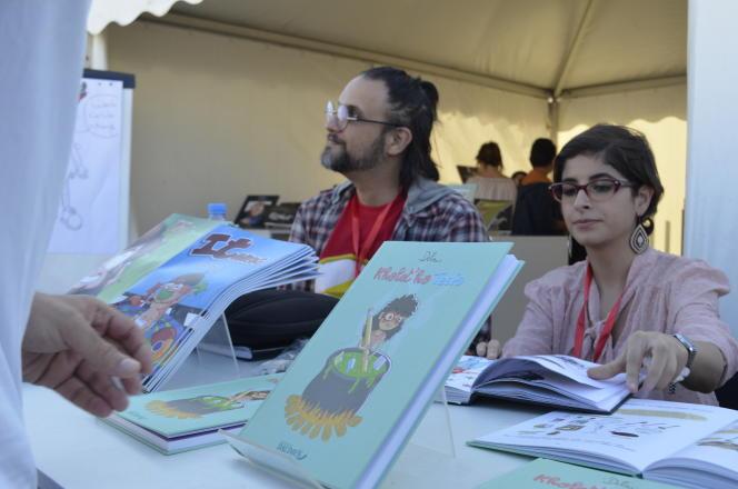 Les bédéistes algériens Togui et Delou font partie des jeunes talents repérés et formés au fil des dix années d'existence du Festival international de BD d'Alger (Fibda) dont la dizième édition s'est tenue du 3 au 7 octobre 2017.