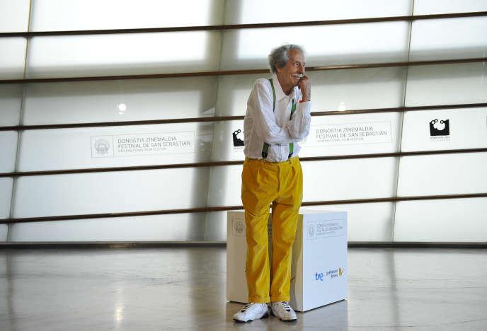 L'acteur français, Jean Rochefort, à Saint-Sébastien, dans le nord de l'Espagne, lundi 24 septembre 2012.